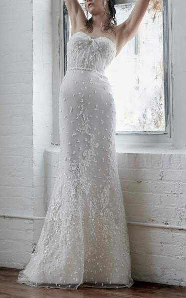 Isabelle Armstrong Gabriella Strapless Embellished Gown